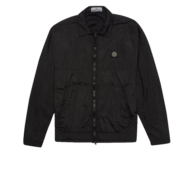 Stone Island Black Nylon Metal Work Jacket