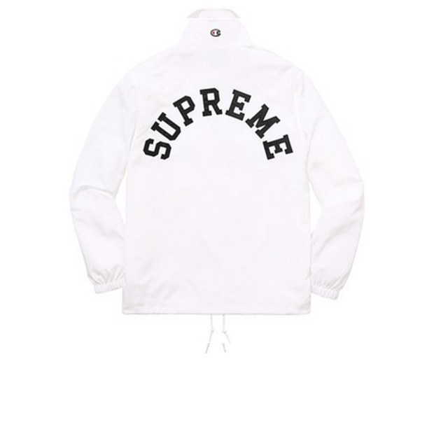 Supreme x Champion Anorak Arc Logo White