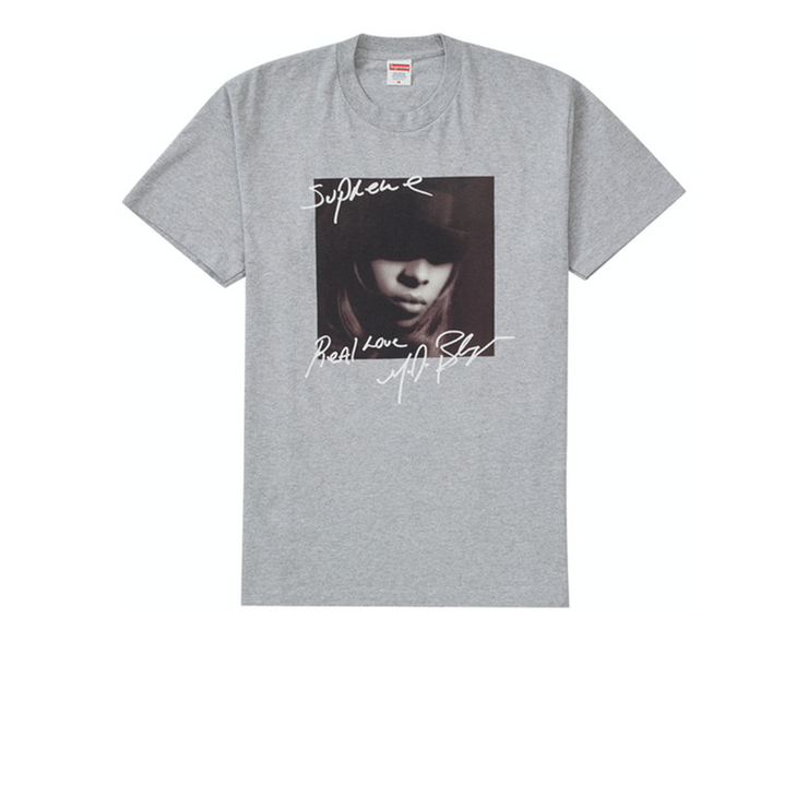 Supreme Mary J. Blige Tee Gray