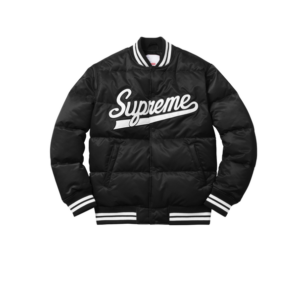 Supreme Puffy Varsity Jacket
