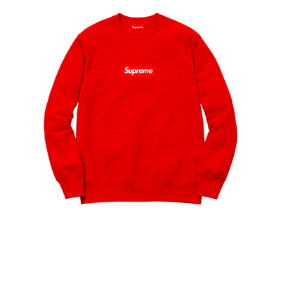 Supreme Box Logo Crewneck (FW15) Red - Rerun Toronto