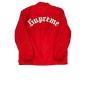 Supreme Red Script Jacket