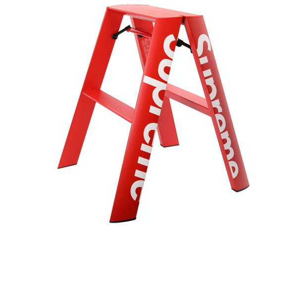 Supreme Lucano Step Ladder Red