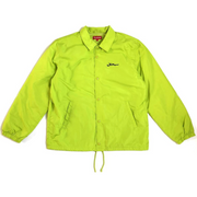 Supreme Arabic Coaches Jacket Lime Green - Rerun Toronto