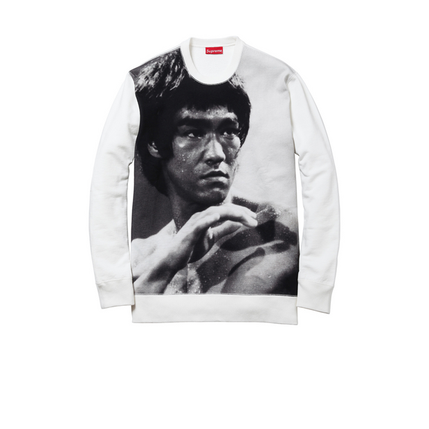 Supreme x Bruce Lee Crewneck White