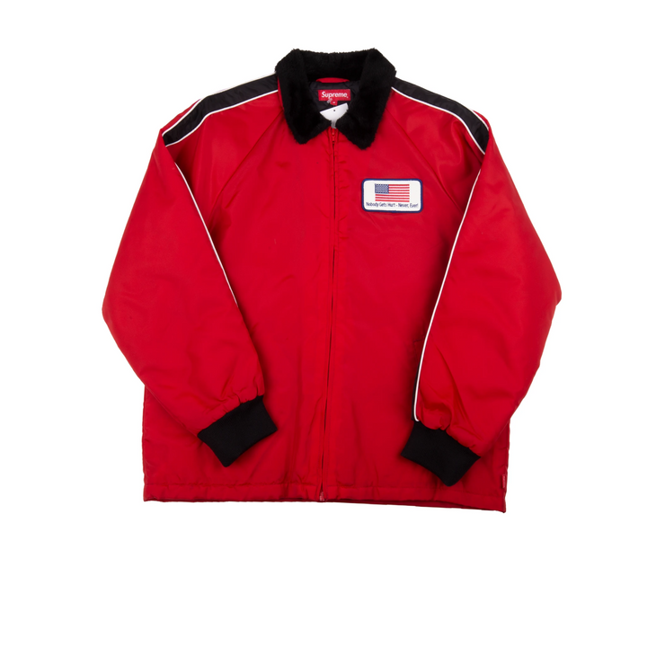Supreme Freighter Jacket Red