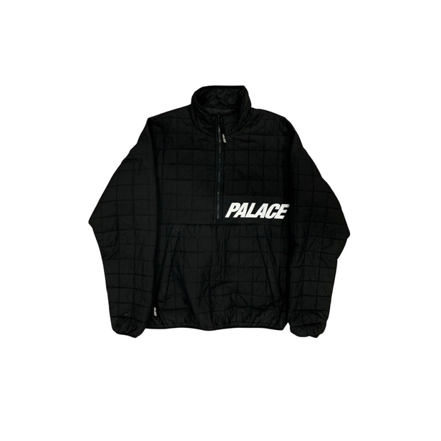 Palace Quilted Half Zip Jacket