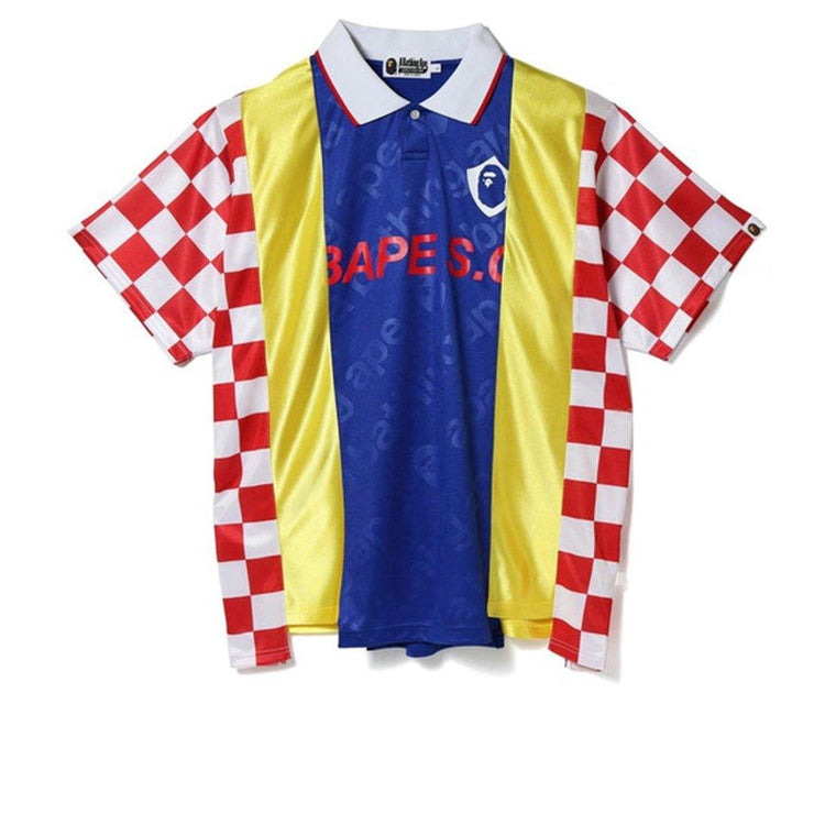 BAPE Checkered Game Jersey - Rerun Toronto