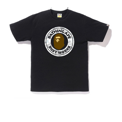 Bape Busy Works Space Camo Tee - Rerun Toronto