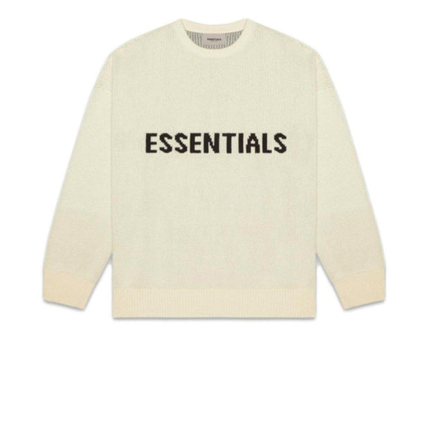 FEAR OF GOD ESSENTIALS Knit Sweater Buttercream