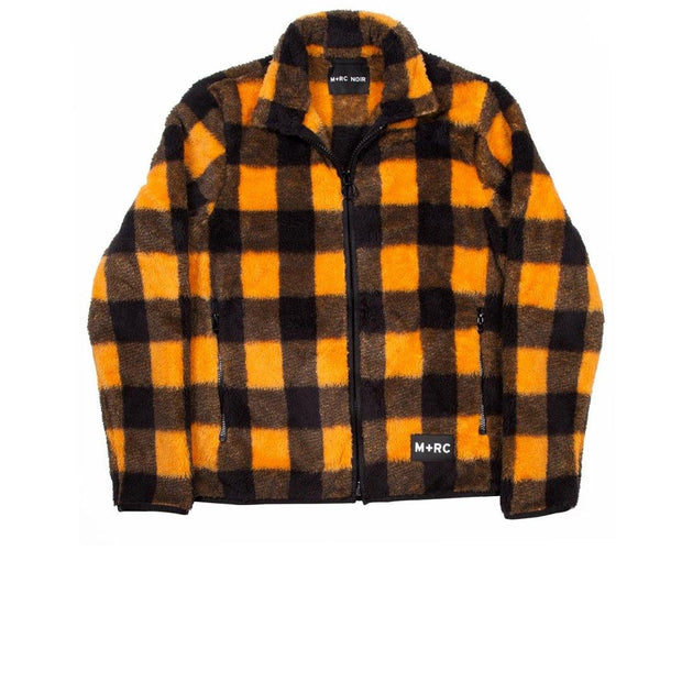 M+RC Noir Soft Fleece Check Jacket