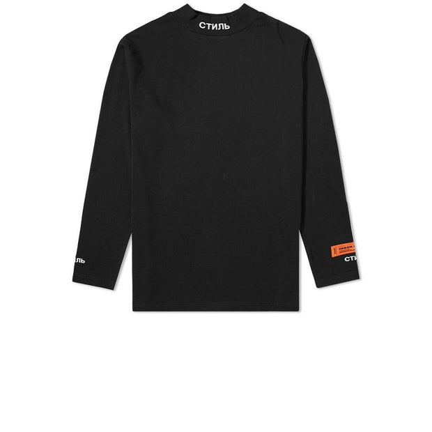 Heron Preston Black Turtle Neck