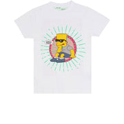 Off-White x Simpsons Bart Glasses T-Shirt White - Rerun Toronto