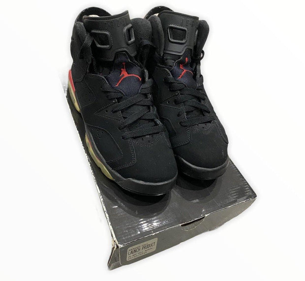 Jordan 6 Retro Black Varsity Red (GS)
