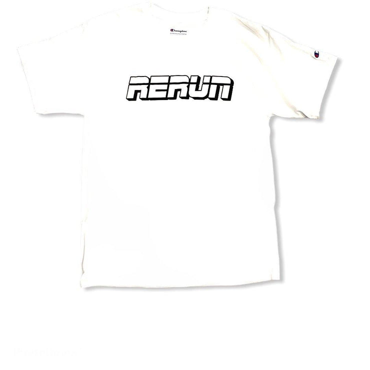 RERUN x Champion Tee Shirt White