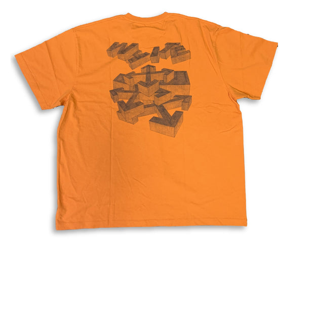 Off White Orange Rationalism Tee