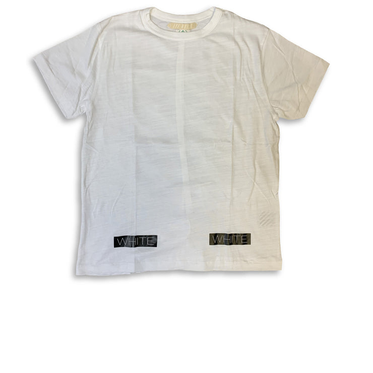 Off White Stripe Tee