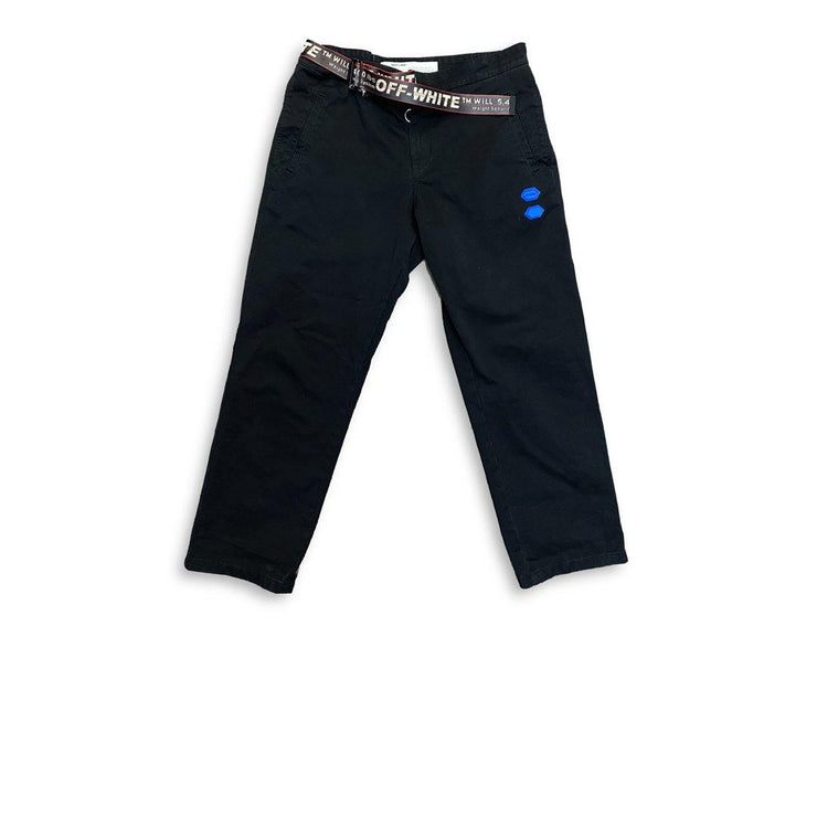 Off White Industrial Belt Pants