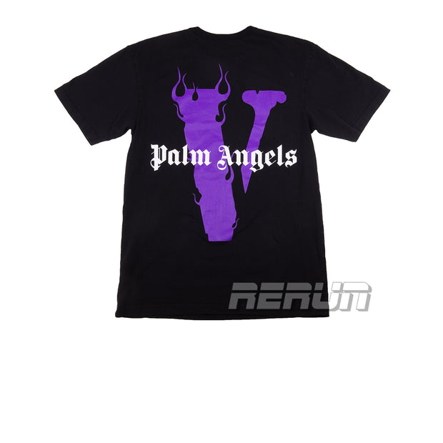 Vlone x Palm Angels Tee Purple - Rerun Toronto