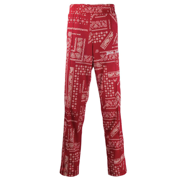 Palm Angels Red Bandana Track Pants - Rerun Toronto