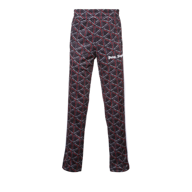 Palm Angels Red Monogram Track Pants - Rerun Toronto