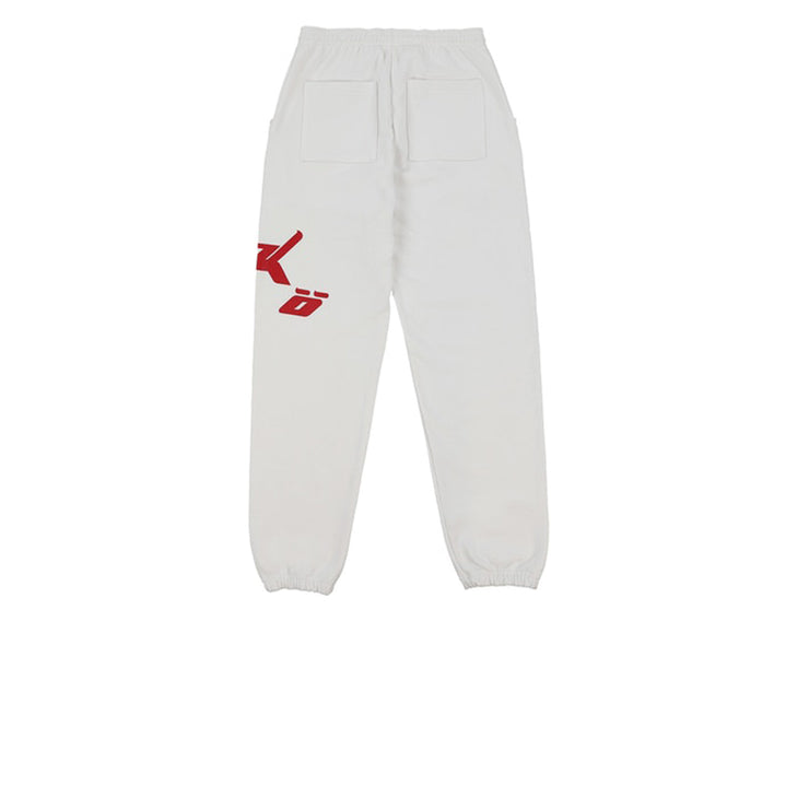 Sicko Pain Sweatpants White