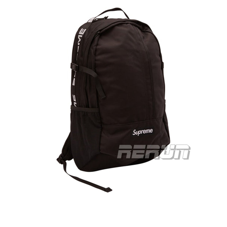 Supreme Backpack (SS18) Black - Rerun Toronto
