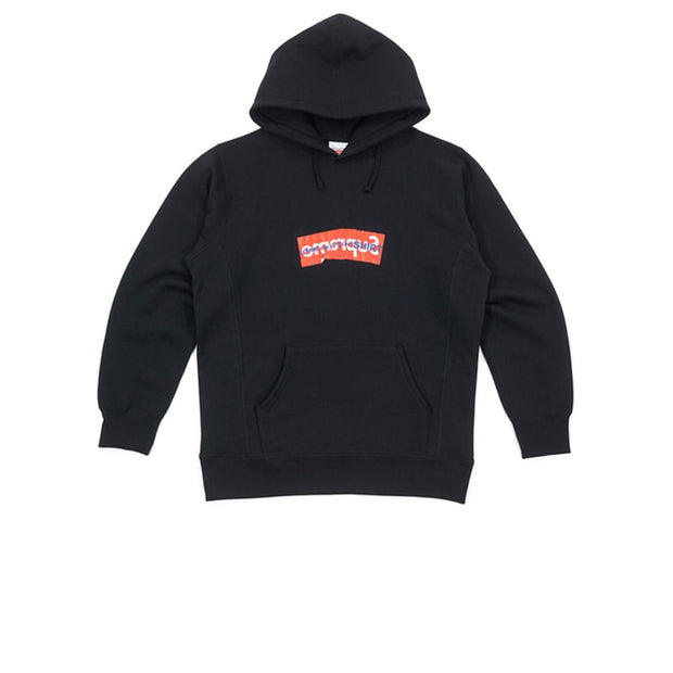 Supreme CDG SHIRT Box Logo Hooded Sweatshirt Black
