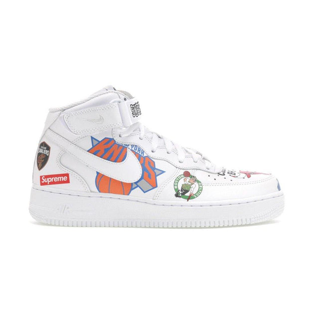 Air Force 1 Mid Supreme NBA White - Rerun Toronto