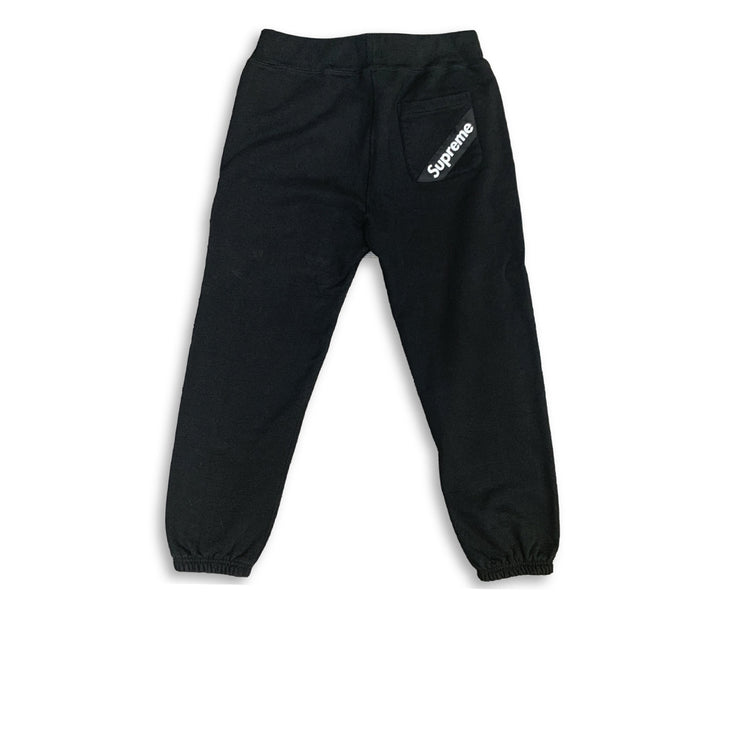 Supreme Stripe Pocket Sweatpants Black - Rerun Toronto