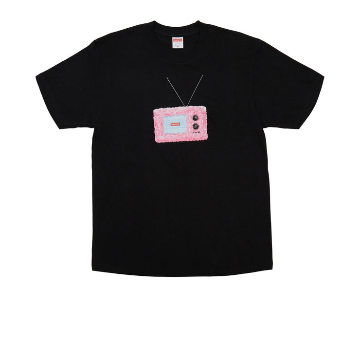 Supreme TV Tee Black - Rerun Toronto