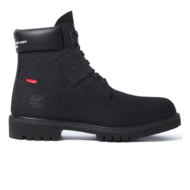 "Timberland 6"" Boot Supreme x Comme des Garcons Black"