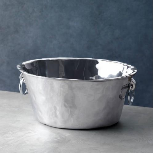 Soho Ice Bucket 'Nantucket' w/Handles - Large