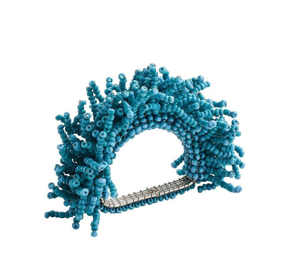 Carnival Napkin Ring Turquoise