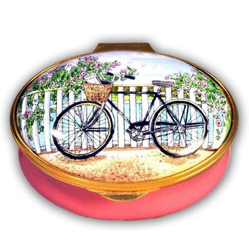Nantucket Bicycling Shopping Pill Box (Retired)