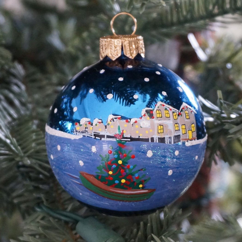 Christmas Dory Nantucket Noel Ornament (2012)