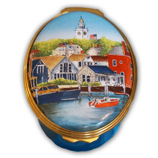 First Glance Nantucket Pill Box