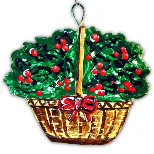 Holly Basket 2001