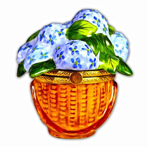 Nantucket Hydrangea Basket Limoges Box