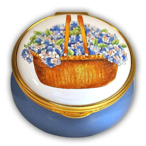 Nantucket Hydrangea Basket Pill Box (Retired)