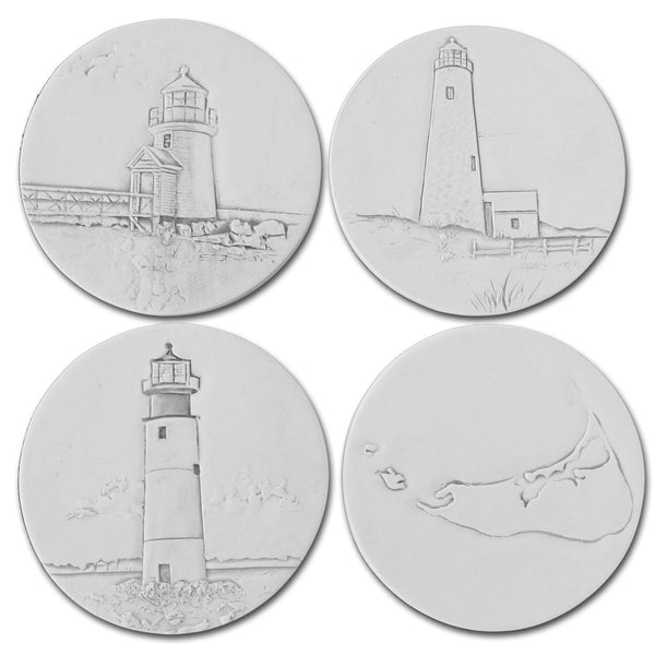 Nantucket Lighthouse Coasters