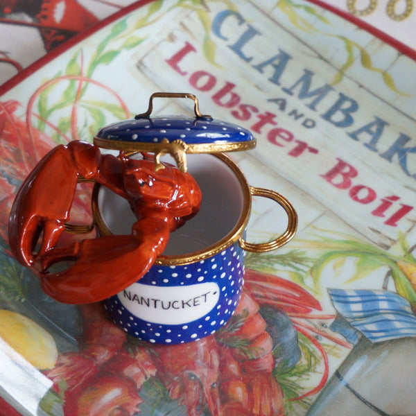 Nantucket Lobster Pot Limoges Box 2015