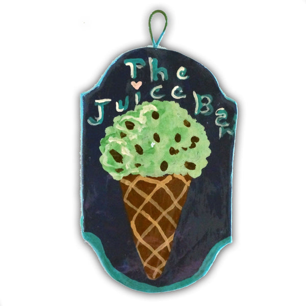 The Juice Bar Ice Cream Cone  2015