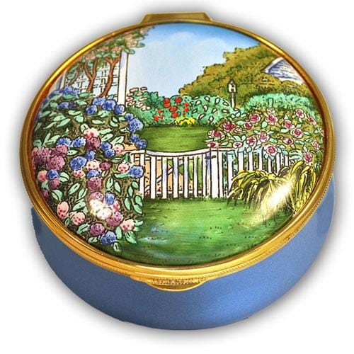 Nantucket Garden Pill Box (Retired)