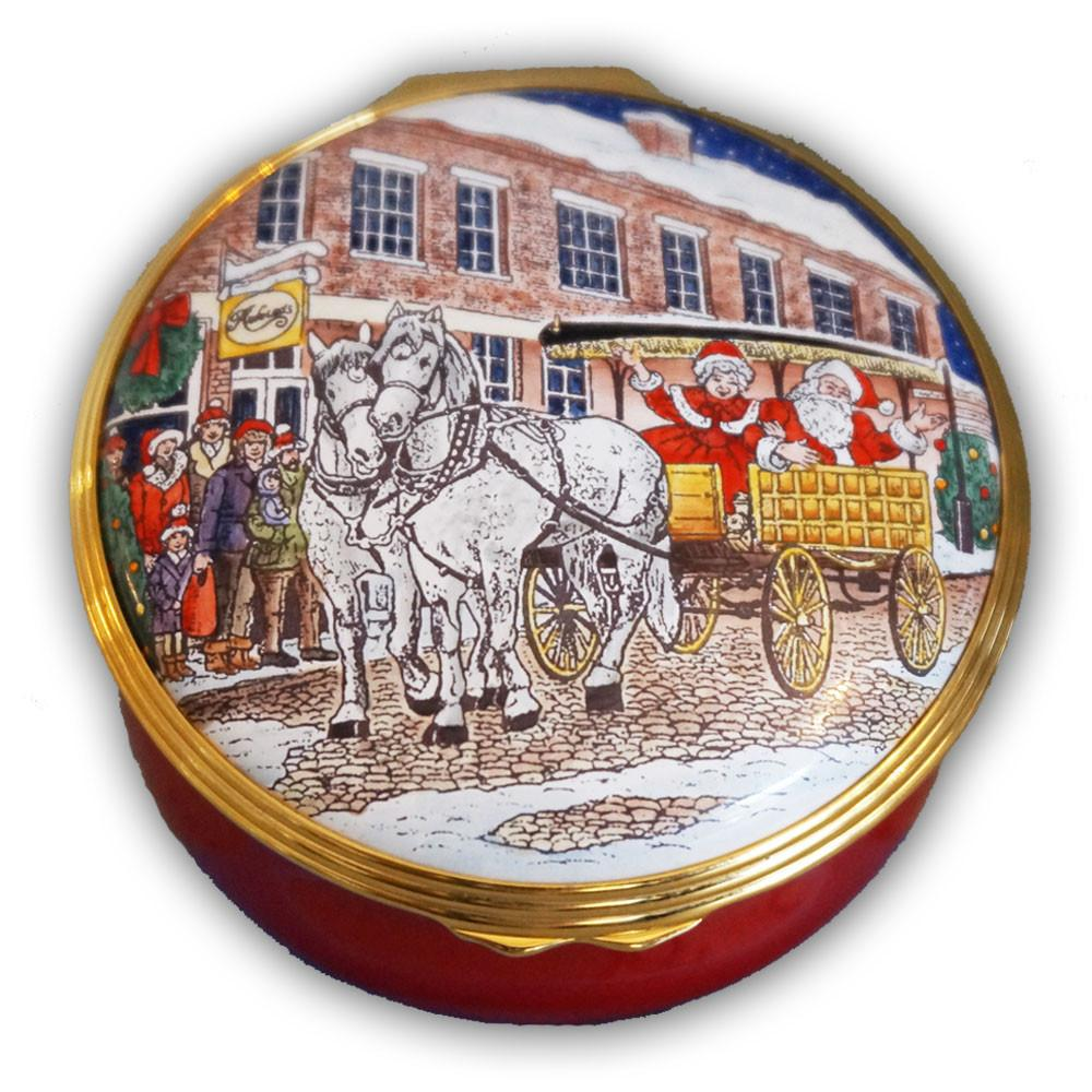 Nantucket Stroll Sleigh Ride Pill Box