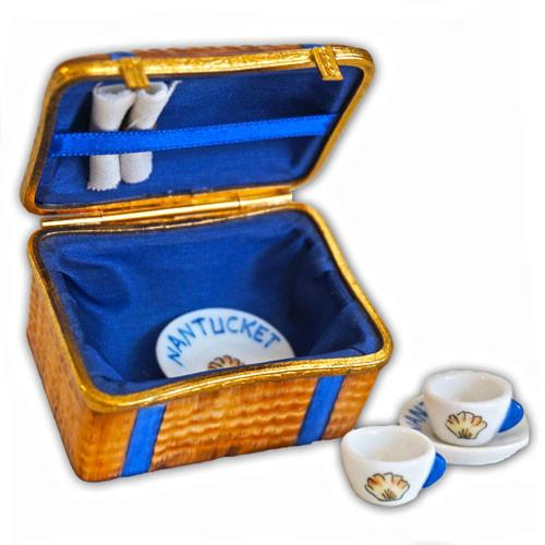 Nantucket Picnic Basket Limoges Box
