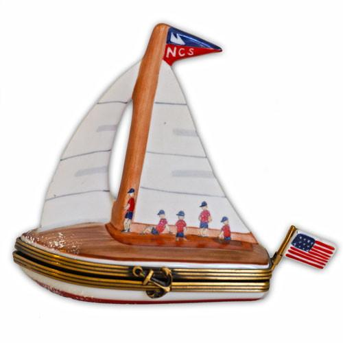 Nantucket Community Sailing Limoges Box
