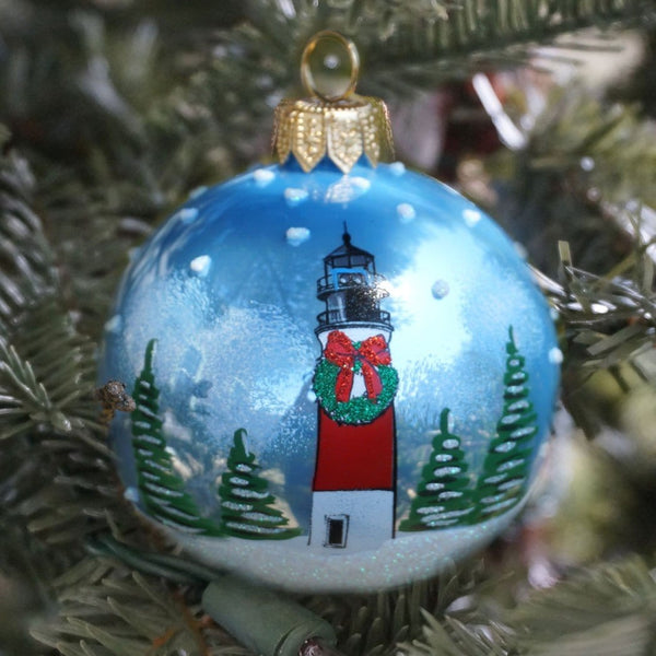 sankaty lighthouse nantucket noel ornament 2015 retired