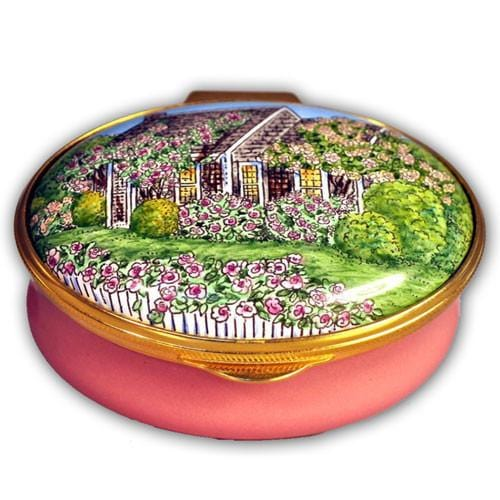 Nantucket Rose Cottage Pill Box (Retired)