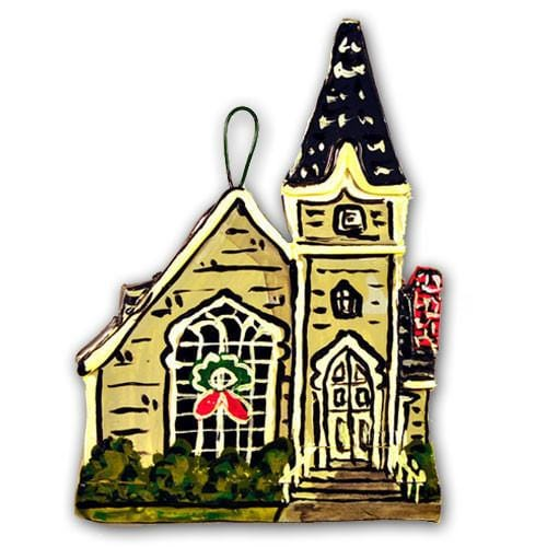 Sconset Chapel Nantucket Ornament